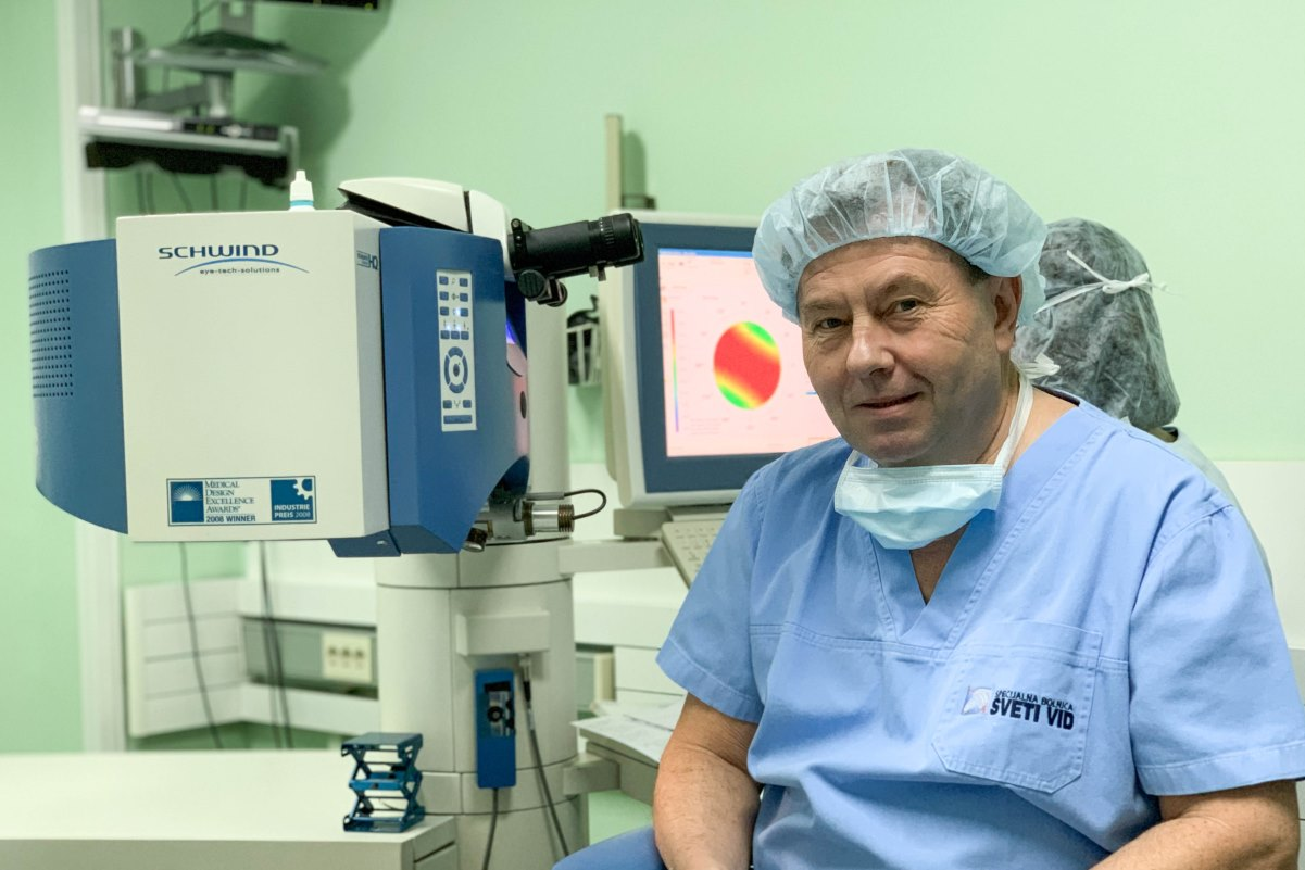 laserska korekcija dioptrije sveti vid