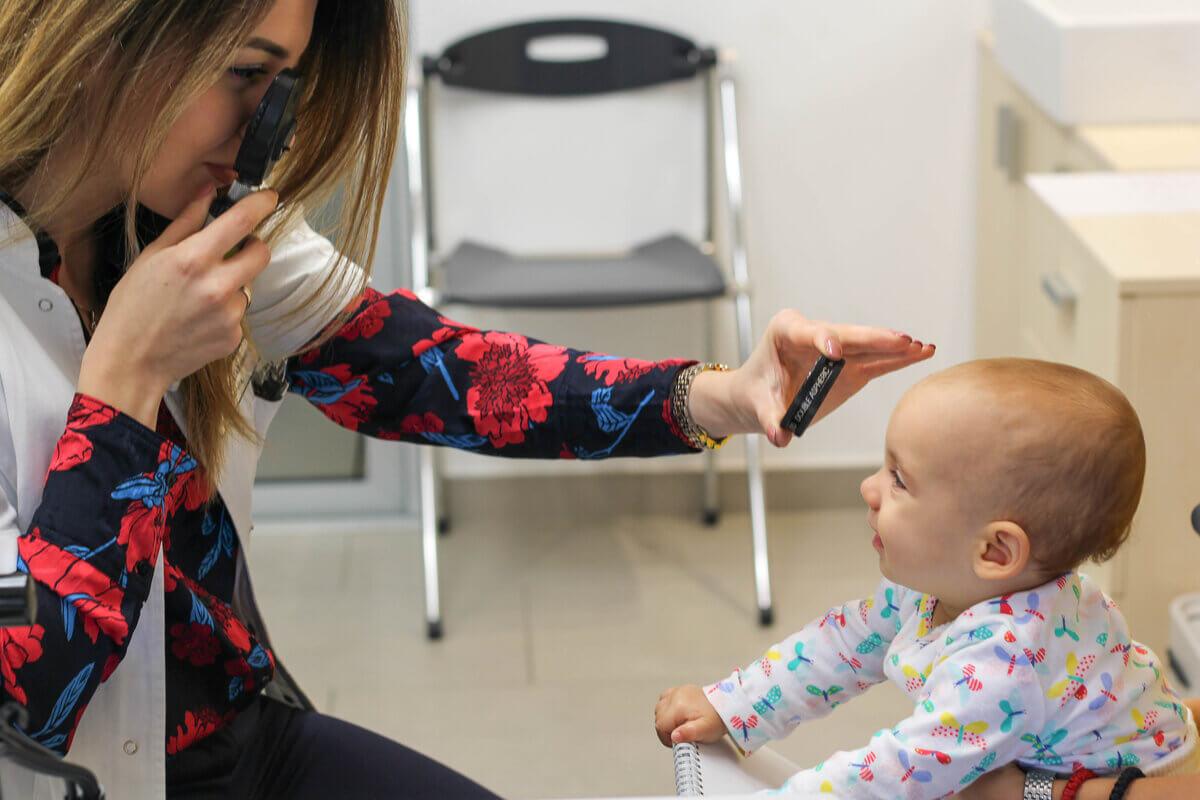 poremećaj vida kod beba